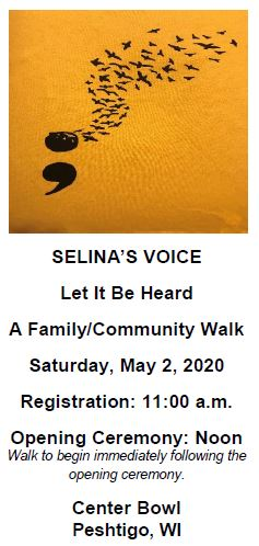 Selina's Voice - A Family/Community Walk